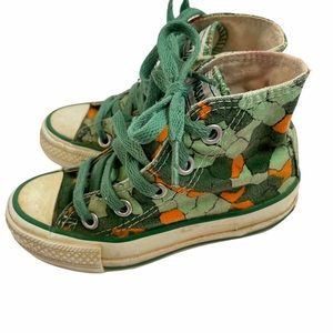 Converse Conasaur Shoes Dinosaur Vintage 1980s 8.5